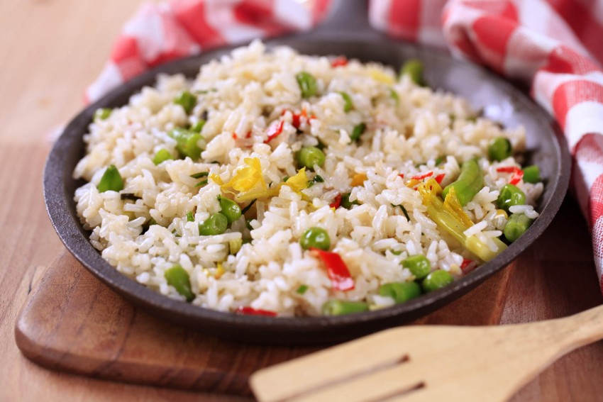 Рисовая диета для живота и бедер