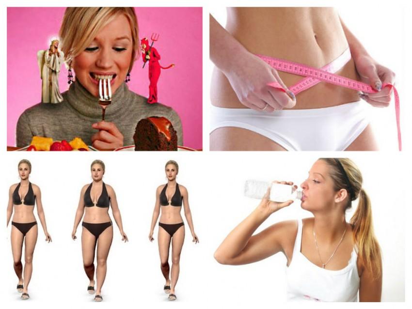 Месячный курс похудения