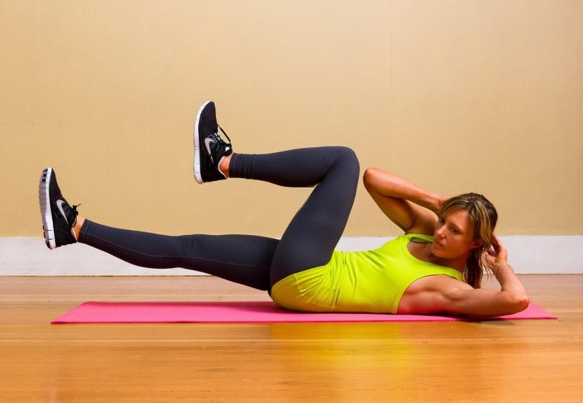 упражнения для похудения талии и живота ролик