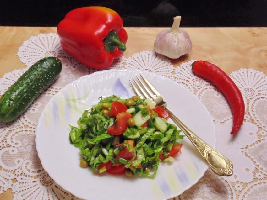 Огуречно помидорная диета