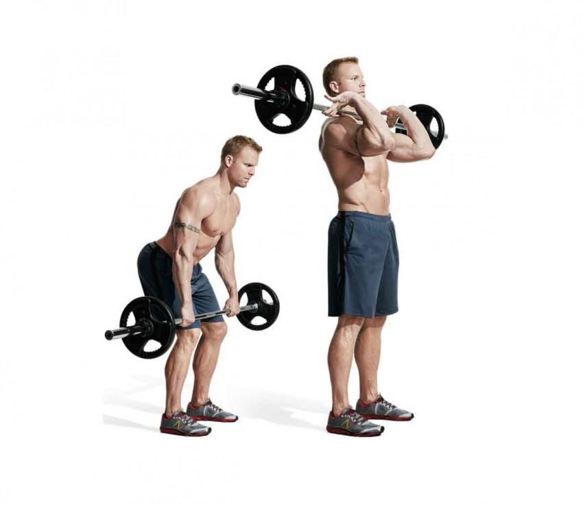 распространенных физическое упражнение со штангой с картинками пути этаже