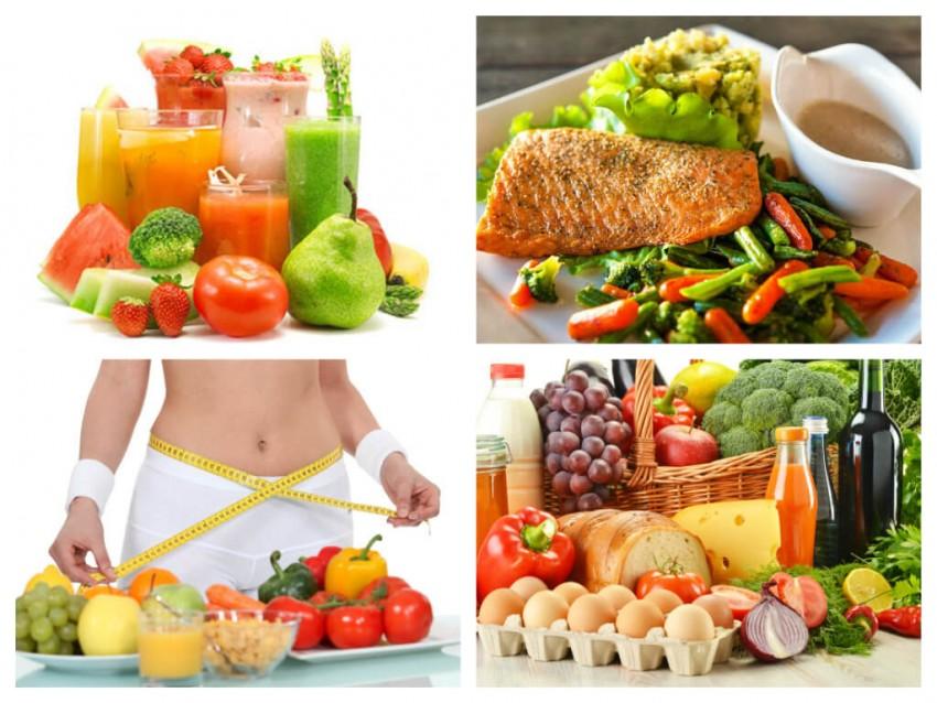 Здоровое питание при диете