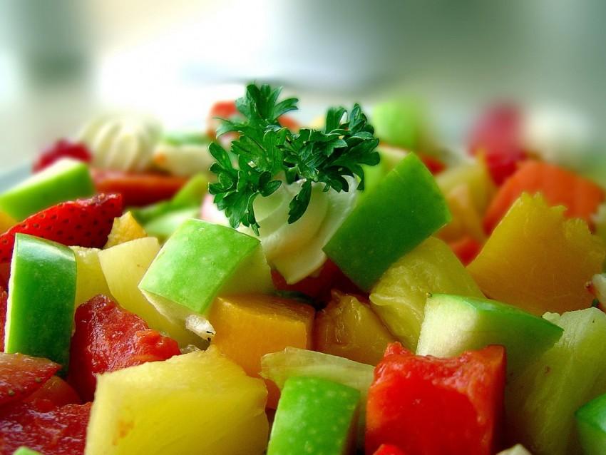 Фруктово овощная диет