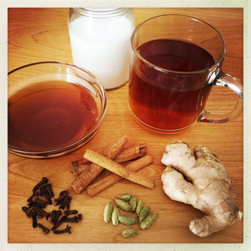 Похудела с помощью чая