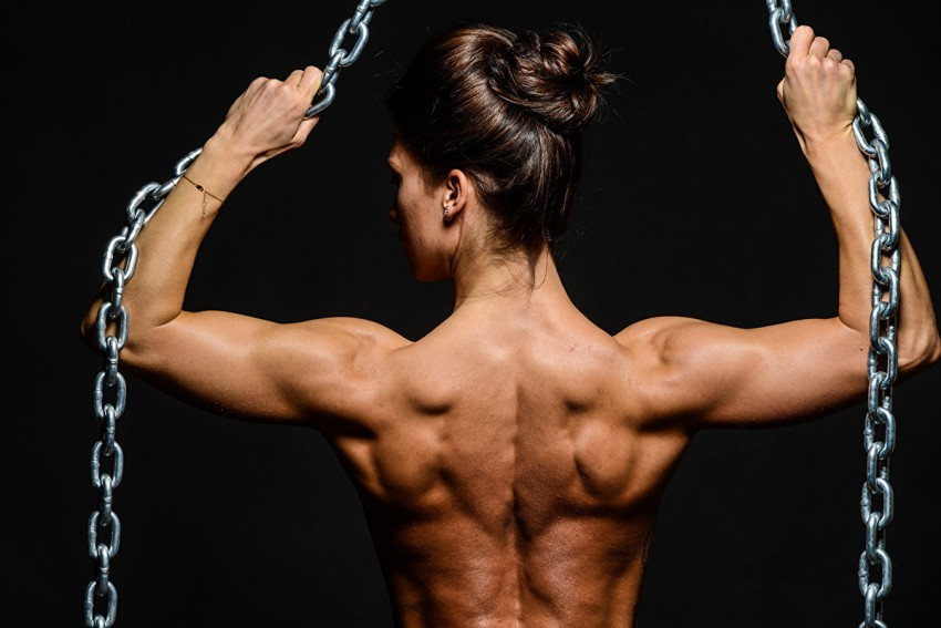 Тренировка шеи на массу