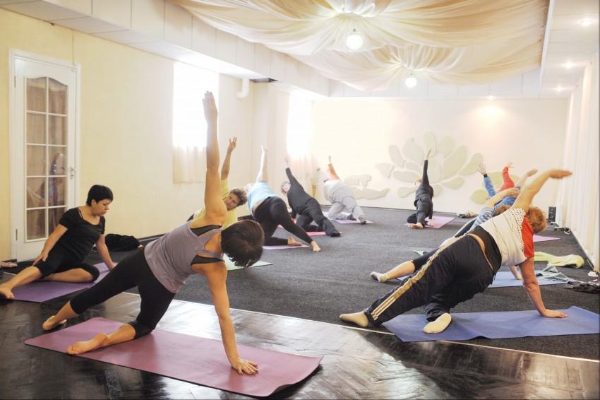 Йога для похудения аэробика